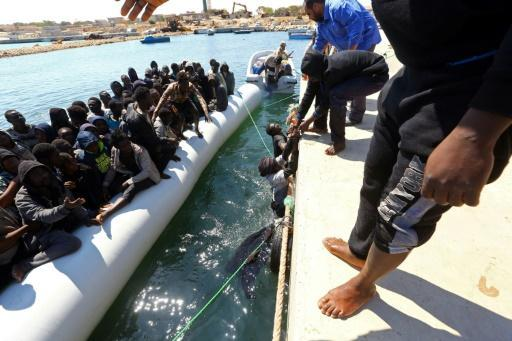 5,000 migrants rescued in 48 hours off Libya