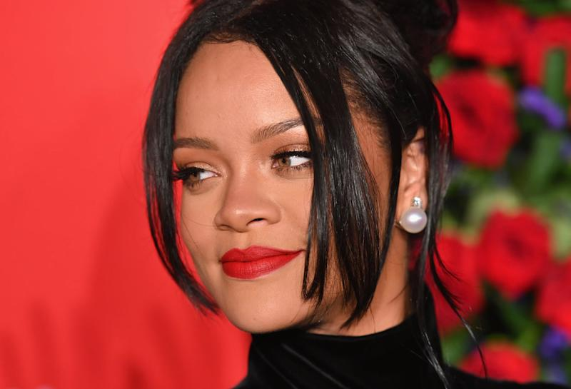 Barbadan singer/actress Rihanna arrives for Rihanna's 5th Annual Diamond Ball Benefitting The Clara Lionel Foundation at Cipriani Wall Street on September 12, 2019 in New York City. (Photo by Angela Weiss / AFP) (Photo credit should read ANGELA WEISS/AFP/Getty Images)