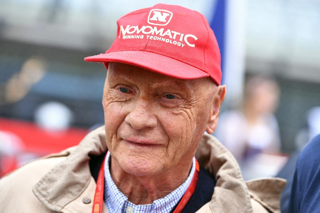 Niki Lauda - 'the cap is my protection from stupid people' (AFP Photo/ANDREJ ISAKOVIC)