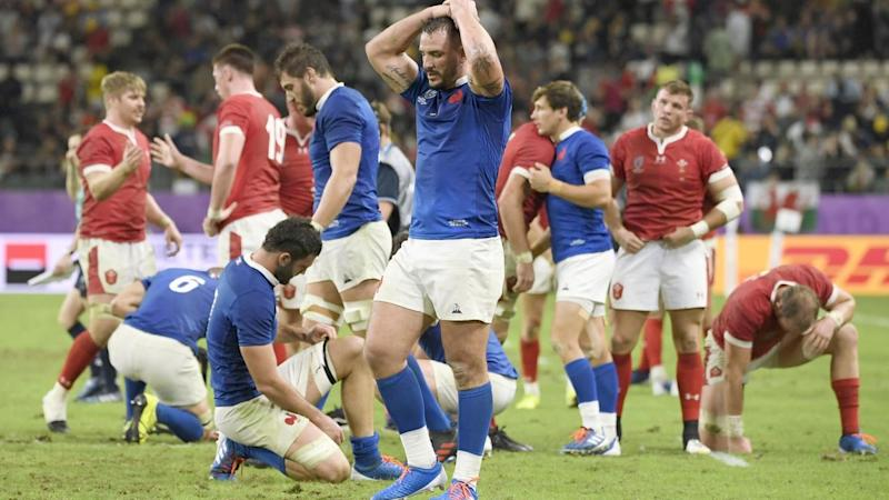 France suffered a one-point loss to Wales in their Rugby World Cup quarter-final