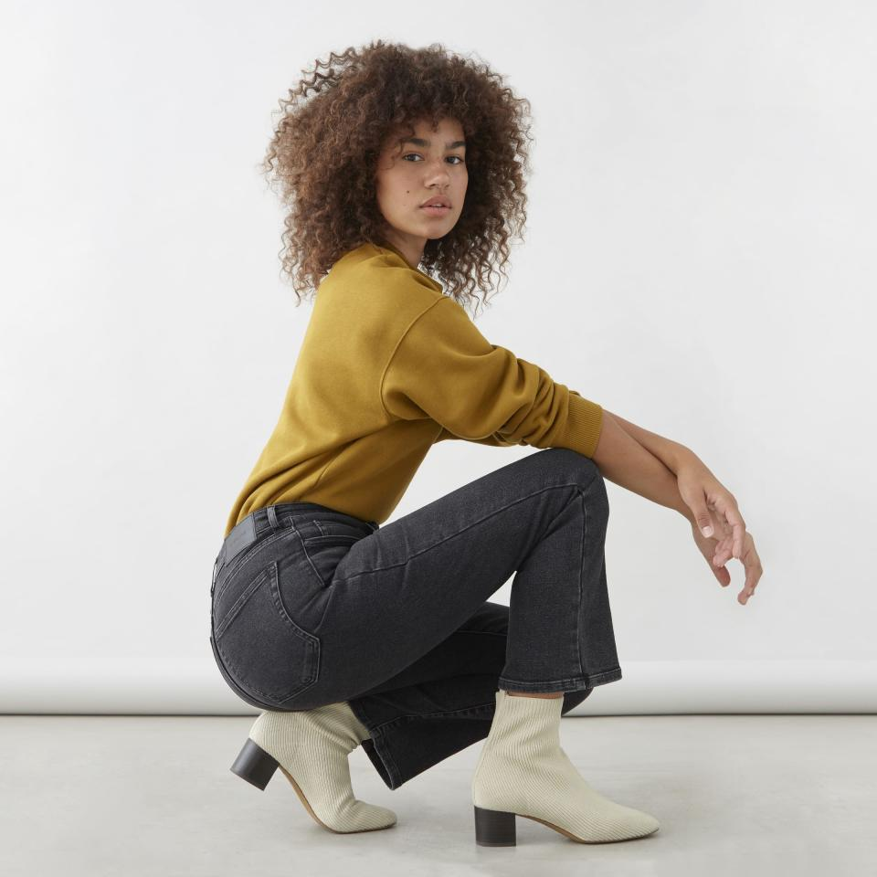 Folks rave about the fit of Everlane jeans.  (Photo: Everlane)