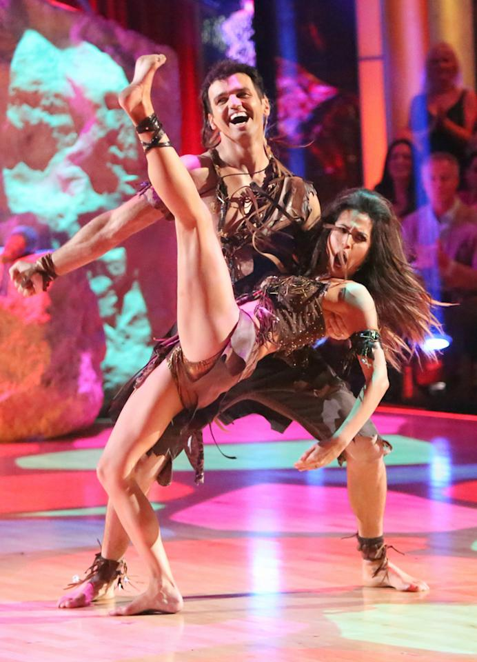 """Tony Dovolani and Melissa Rycroft perform on """"Dancing With the Stars: All-Stars."""""""