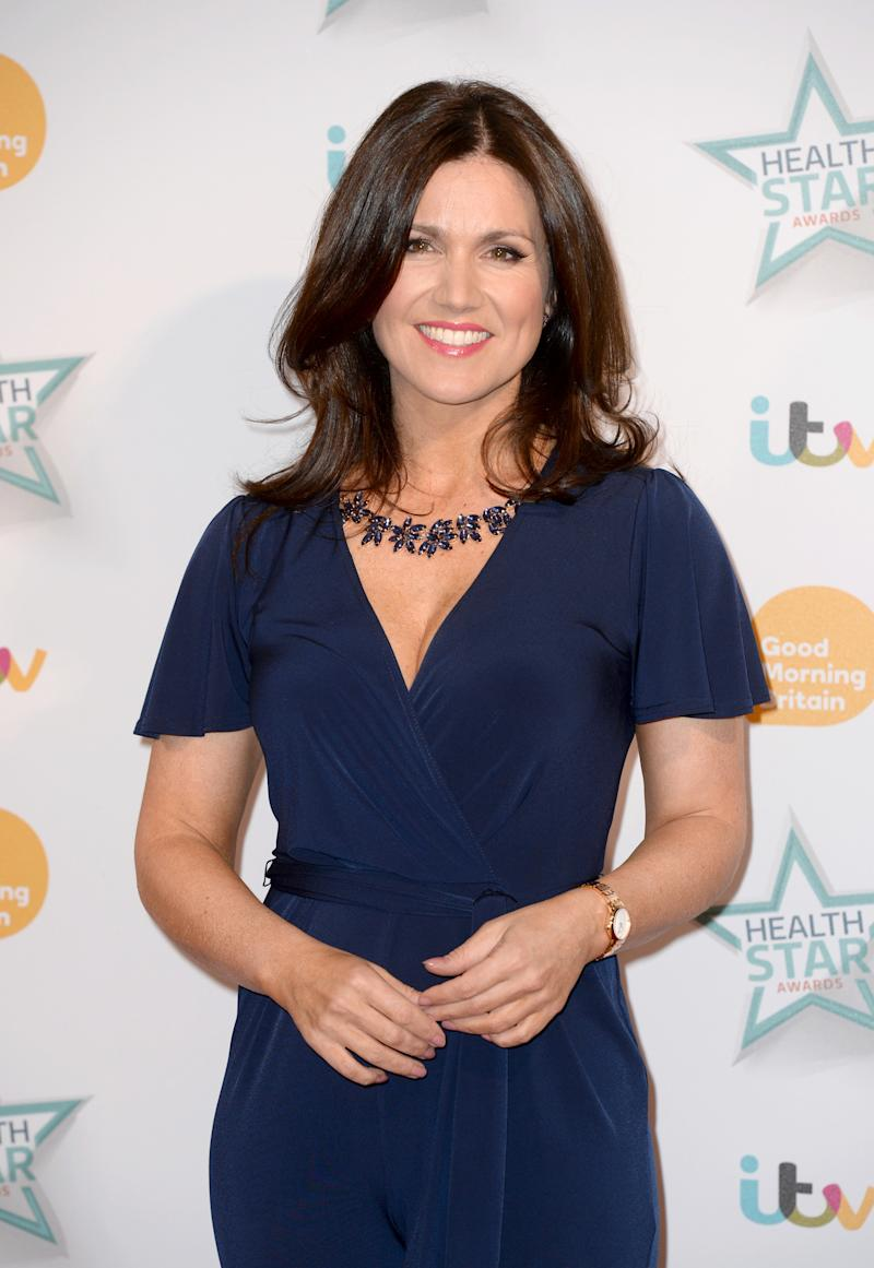 Susanna Reid arriving at the Good Morning Britain Health Star Awards, London Hilton Hotel. Picture Credit: Doug Peters EMPICS Entertainment