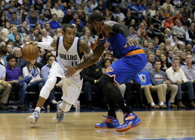 Monta Ellis and Amar'e Stoudemire are reportedly hoping to make comebacks with the Lakers. (AP Photo/Tony Gutierrez)
