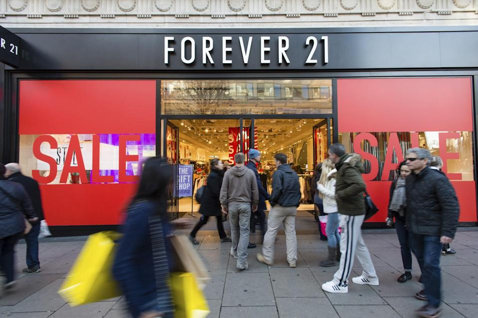 Designer Charles Smith II recently accused Forever 21 of ripping off his work, and he's calling for a boycott. (Photo: Action Press)
