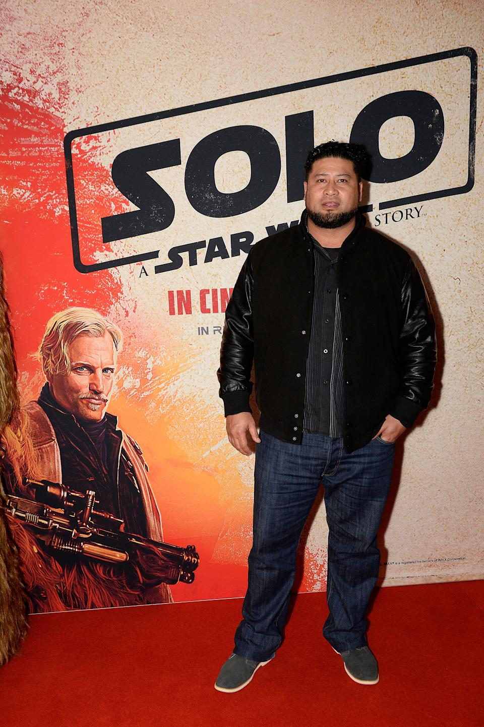 SYDNEY, AUSTRALIA - MAY 17:  John Tui attends the Solo: A Star Wars Story Screening on May 17, 2018 in Sydney, Australia.  (Photo by Cassandra Hannagan/Getty Images for Disney)