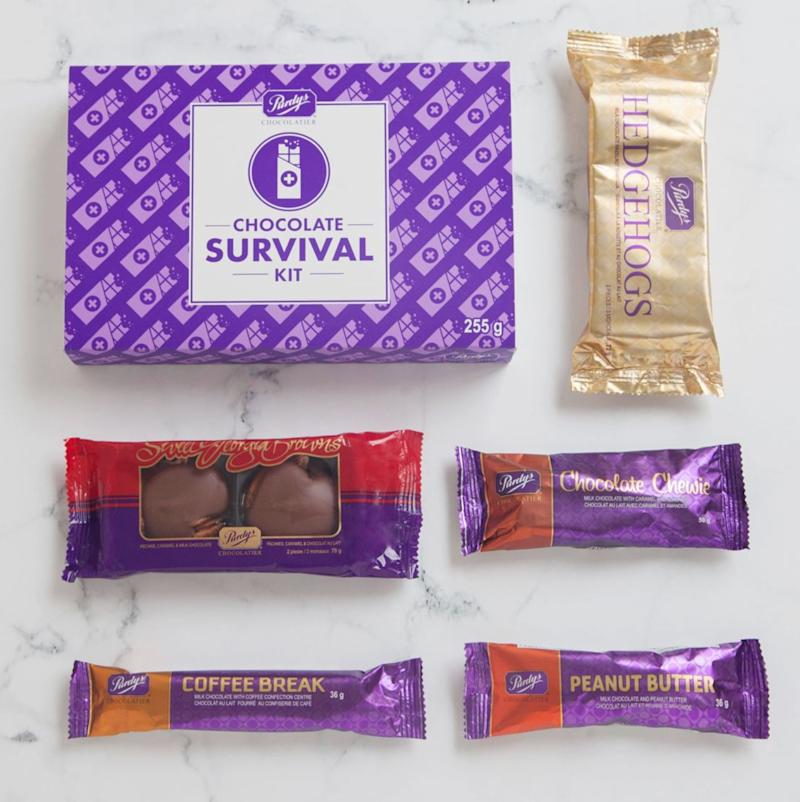 "Nothing gets you through a long work day like the promise of chocolate at the end. (They'll have to stash it in their desk, but it'll be worth it.) Get it for $17 at <a href=""https://www.purdys.com/Chocolate-Survival-Kit"" target=""_blank"" rel=""noopener noreferrer"">Purdy's</a>.&nbsp;"