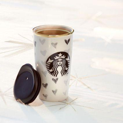 "Do you have a co-worker who comes in every day with a huge mug of coffee? Then he or she will appreciate receiving a mug from the Starbucks Dot Collection. Extra points: it comes in a fancy box. <a href=""http://store.starbucks.ca/drinkware/starbucks-dot-collection,en_CA,sc.html?nofilter=true"" target=""_blank"">Get it here. </a>"
