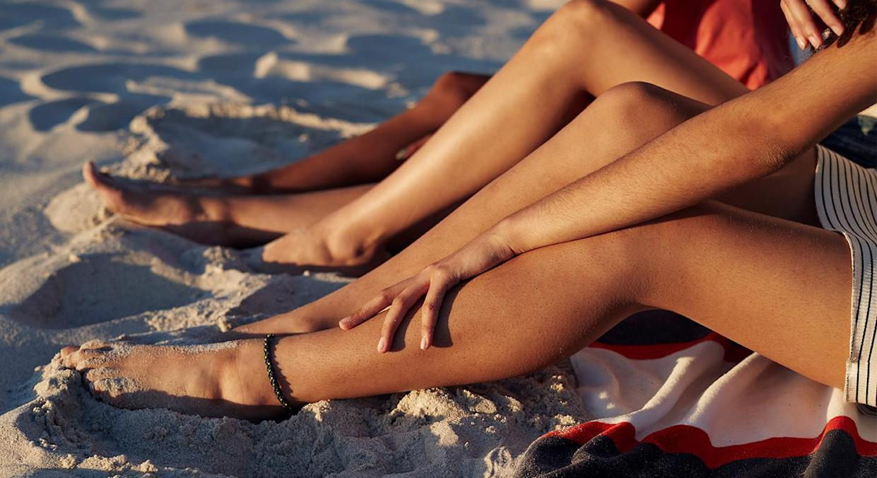 The warm weather doesn't have to leave you feeling uncomfortable because of thigh rub.  (Getty Images)