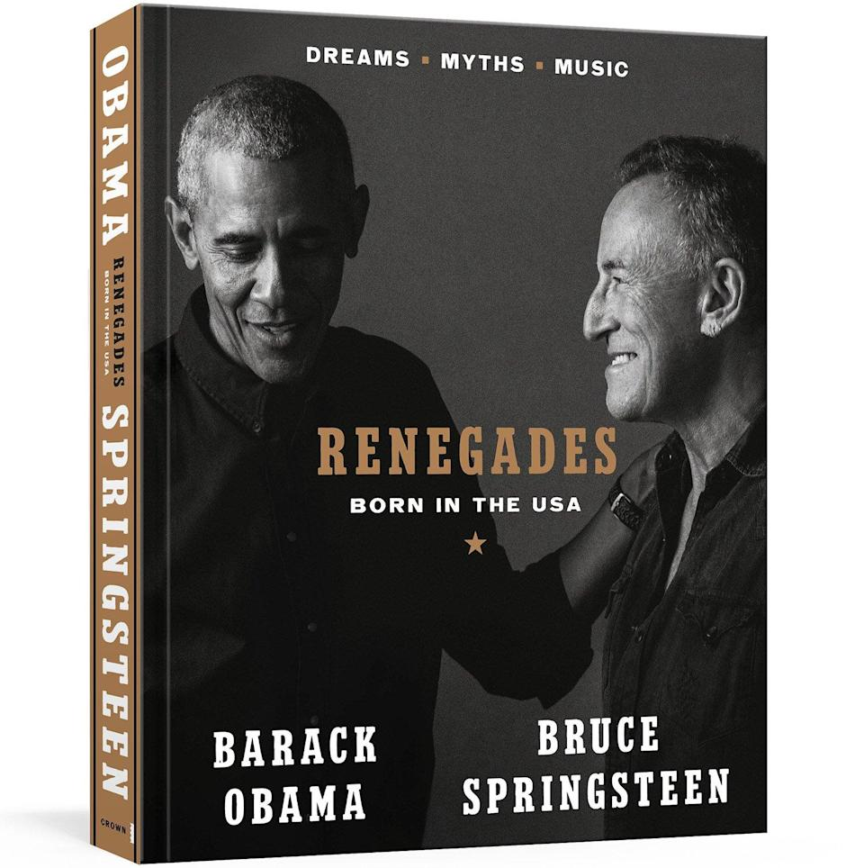 Bruce Springsteen and Obama book