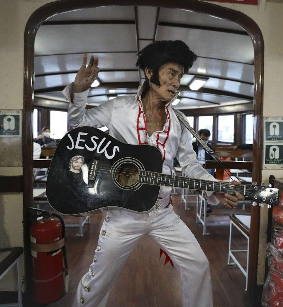 No shaking hips? Elvis Presley impersonators might want to avoid WeChat Channels. Photo: James Wendlinger