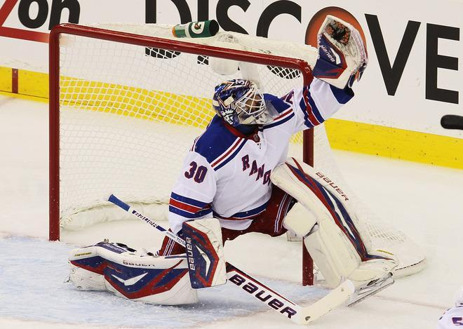 <b>Henrik Lundqvist</b><br> The reigning Vezina Trophy winner signed a six-year $41.25 million deal with the New York Rangers in 2008. Annual salary: $6.875M