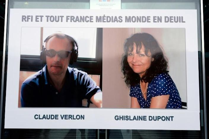 Veteran journalists Ghislaine Dupont and Claude Verlon were seized and killed in the flashpoint northern Malian town of Kidal in November 2013 after interviewing a separatist Tuareg leader