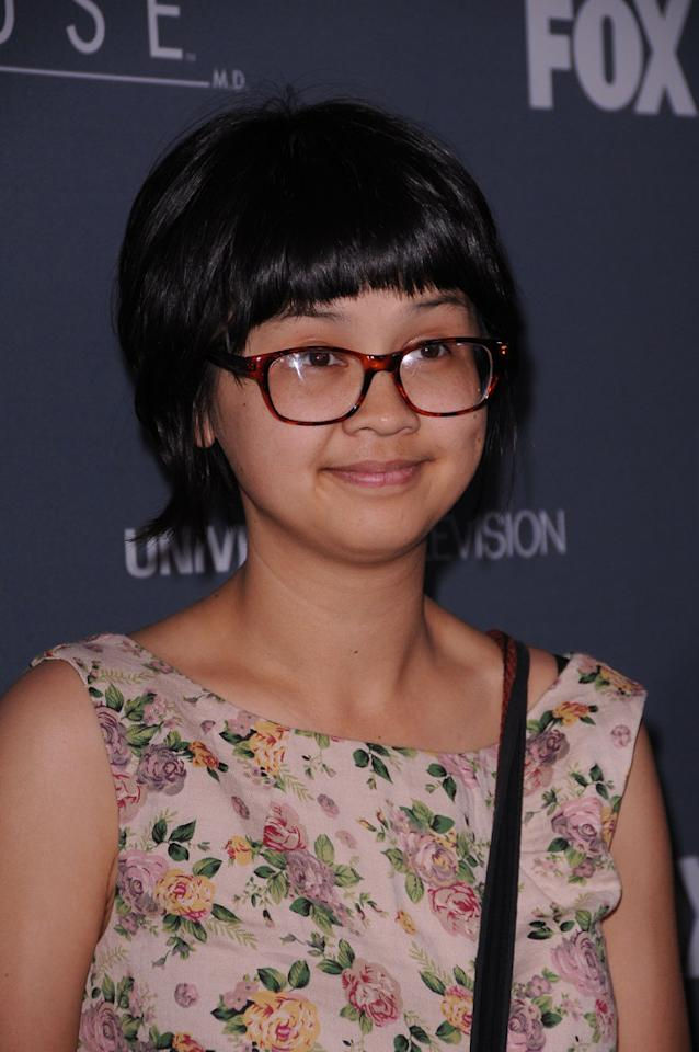 "Charlyne Yi arrives at the ""<a target=""_blank"" href=""http://tv.yahoo.com/house/show/36106"">House</a>"" Series Finale Wrap Party on Friday, April 20, 2012 at Cicada in downtown Los Angeles, California."