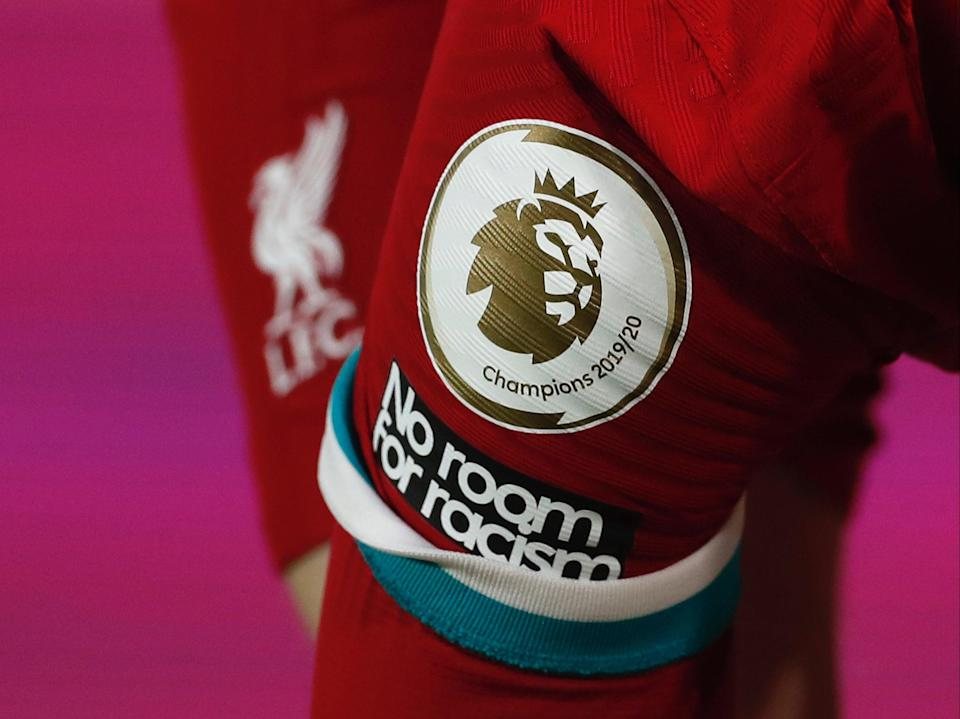 Una vista general del logo de la Premier League (Getty Images)
