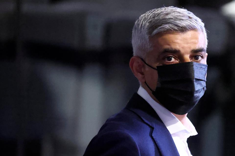 Sadiq Khan: concerned at number of Britons travelling to SpainREUTERS