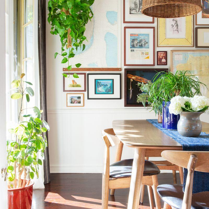 Step Inside An Interior Designeru0027s Charming, Plant Filled Los Feliz  Apartment