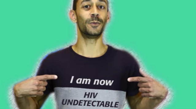 A British LGBTQ advocacy group is hoping to clarify some misconceptions about what it means to be HIV undetectable in a quirky new video.