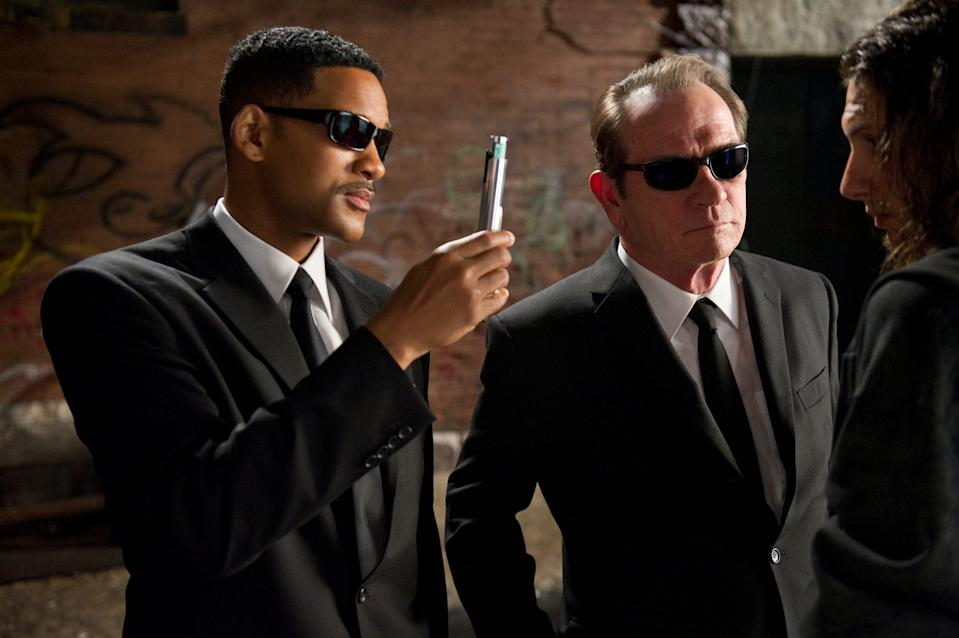 """Will Smith and Tommy Lee Jones starred in """"MIB 3."""""""
