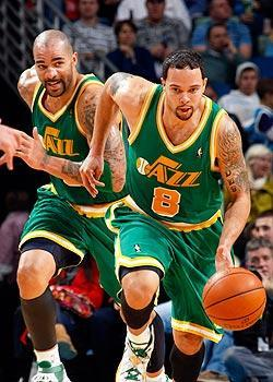 With Carlos Boozer and Deron Williams leading the way, the Jazz look like a possible title contender