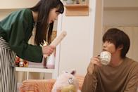 """<p>A high school girl gets her first apartment and realises she has to share it with the most popular guy in school. The roommates decide it's best they keep it a secret.</p> <p><a href=""""http://www.netflix.com/title/80092878"""" class=""""link rapid-noclick-resp"""" rel=""""nofollow noopener"""" target=""""_blank"""" data-ylk=""""slk:Watch Good Morning Call on Netflix now."""">Watch <strong>Good Morning Call</strong> on Netflix now.</a></p>"""