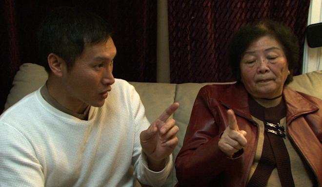 Eddy Zheng and his mother, Mary Zheng, in 2018. Photo: Handout