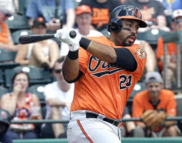Pedro Alvarez has a chance to prove he belongs after getting a promotion from Orioles. (AP)