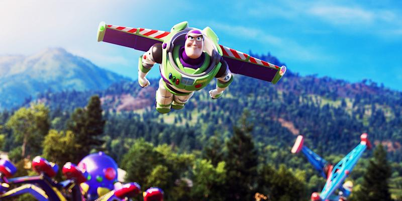 Buzz Lightyear takes flight in 'Toy Story 4' (Photo: Walt Disney Studios Motion Pictures / courtesy Everett Collection)