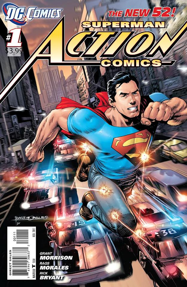 Action Comics #1, Cover © 2011 DC Entertainment