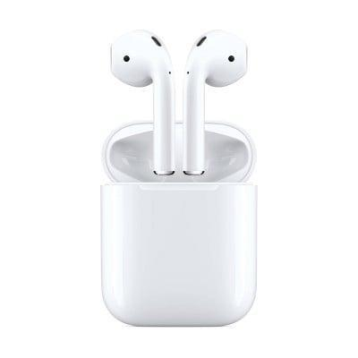 <p>You can't go wrong with the original <span>Apple AirPods with Charging Case</span> ($130, originally $160). You can access Siri and double tap to play and skip songs.</p>