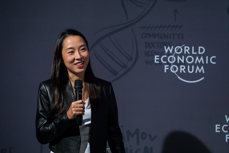 Juliana Chan, Chief Executive Officer, Wildtype Media Group, Singapore; Young Global Leader, captured during the Session: A New Wave of Ocean Solutions with Nanyang Technological University at the World Economic Forum - Annual Meeting of the New Champions in Dalian, People's Republic of China, July 1, 2019. (PHOTO: World Economic Forum / Ciaran McCrickard)