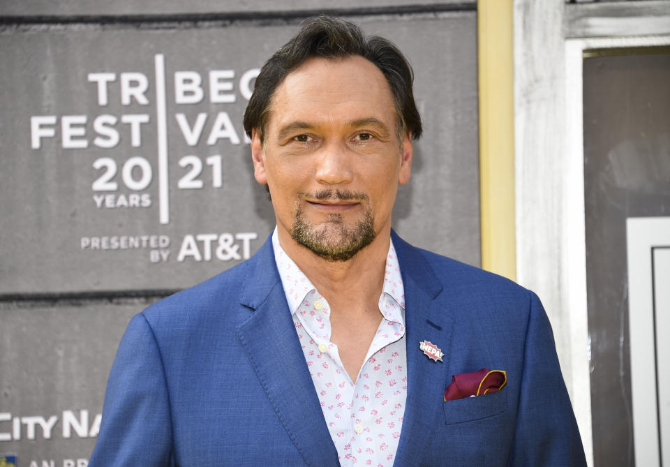 Actor Jimmy Smits attends the 2021 Tribeca Film Festival opening night premiere of