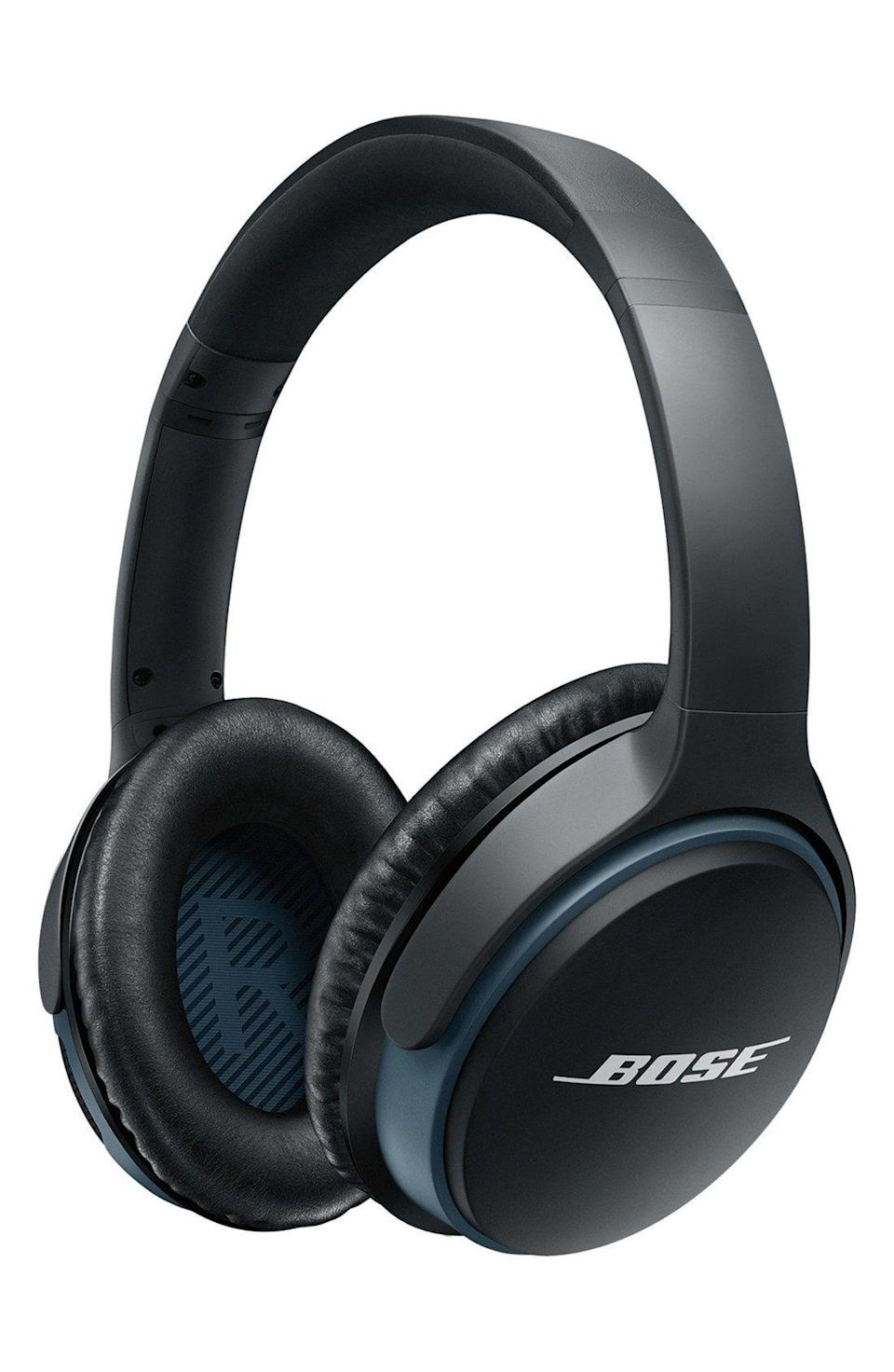 "<p><strong>Bose </strong></p><p>nordstrom.com</p><p><a href=""https://go.redirectingat.com?id=74968X1596630&url=https%3A%2F%2Fshop.nordstrom.com%2Fs%2Fbose-soundlink-around-ear-bluetooth-headphones%2F4164252&sref=https%3A%2F%2Fwww.harpersbazaar.com%2Ffashion%2Ftrends%2Fg4473%2Fmens-holiday-gift-guide%2F"" rel=""nofollow noopener"" target=""_blank"" data-ylk=""slk:Shop Now"" class=""link rapid-noclick-resp"">Shop Now</a></p><p>A pair of new wireless headphones always makes for the perfect gift.</p>"