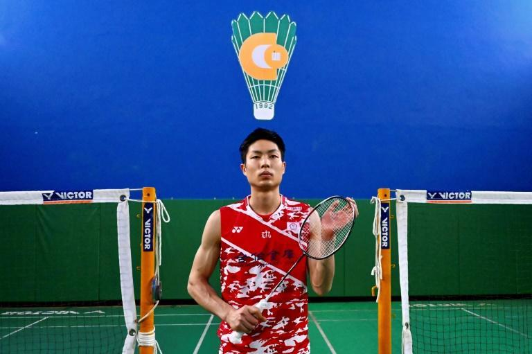 Chou Tien-chen is hoping to become the first Taiwanese badminton player to win an Olympic medal
