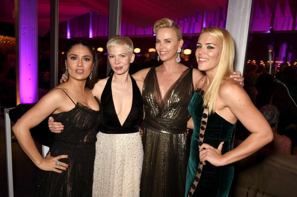 <p>Major lady-power in action inside the party. (Photo: Getty Images) </p>