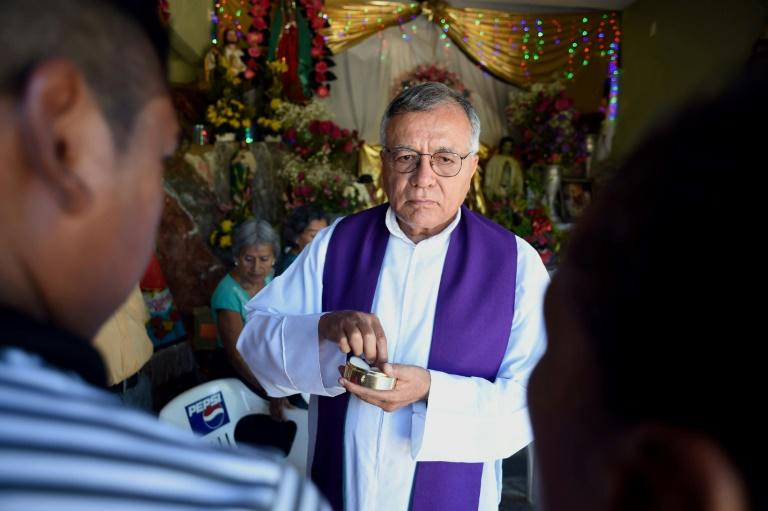 Priest Jesus Mendoza served for years at a church in the violent port city of Acapulco before being transferred to a rural congregation outside the city for his own protection
