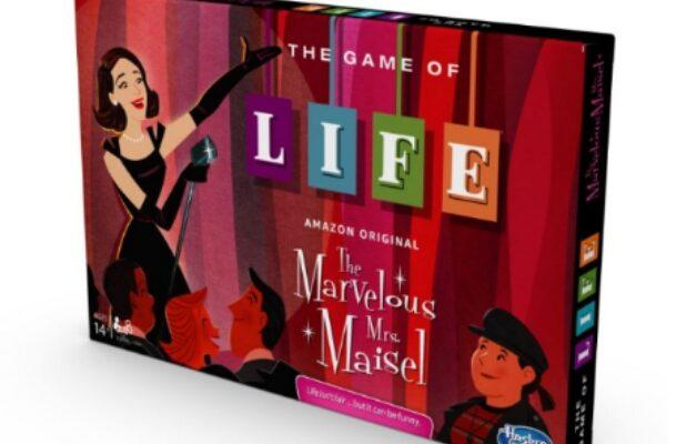 Amazon to Debut a 'Marvelous Mrs. Maisel' Edition of the Game of Life