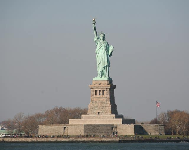 The Statue of Liberty seen from the Staten Island ferry (Martin Keene/PA)
