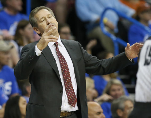 It has not been a very good start to the season for the Knicks and head coach Jeff Hornacek. (AP)