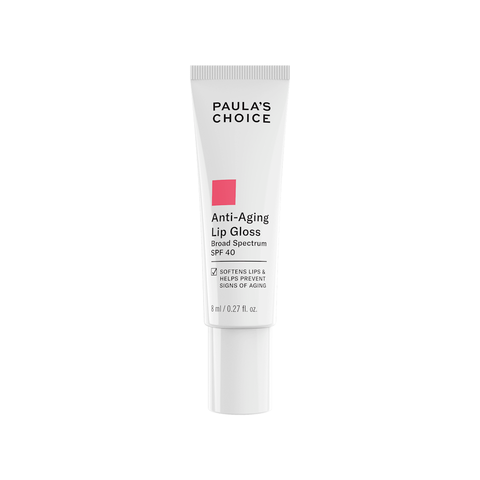 <p>Give your lips the protection it deserves with the <span>Paula's Choice Anti-Aging Lip Gloss SPF 40</span> ($19). It's a nourishing gloss balm that works great by itself or on top of your lip look.</p>