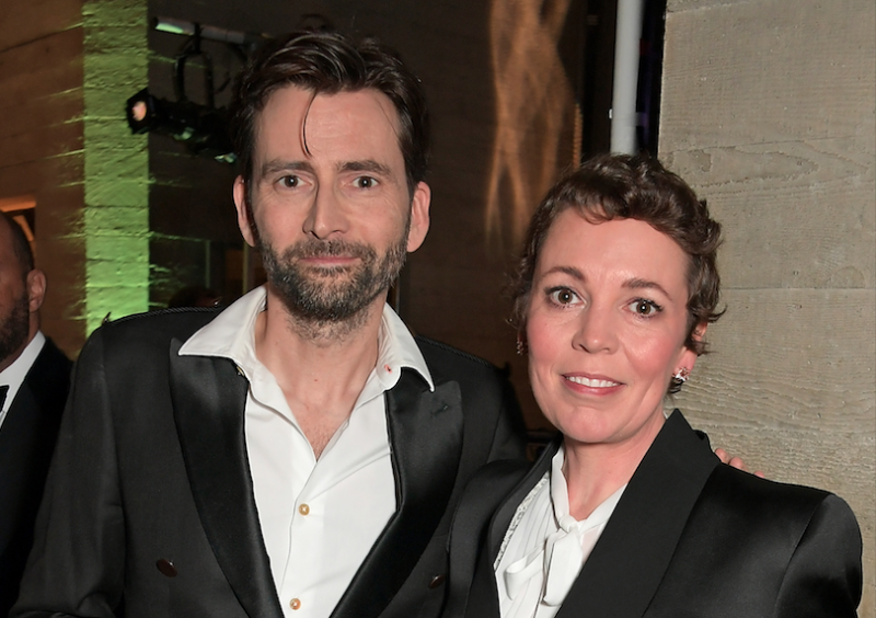 David Tenant and Olivia Colman (Credit: David M. Benett/Dave Benett/Getty Images)