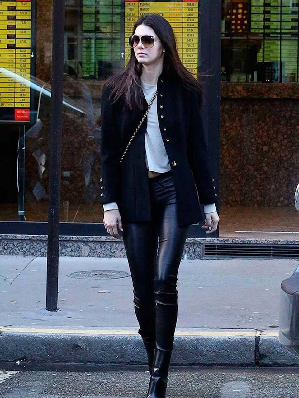 <p>Out and about in Paris during a/w 2014 Paris Fashion Week</p>