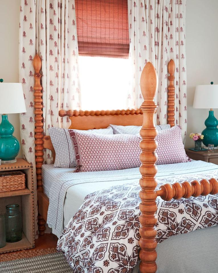 "<p>When it comes to <a href=""https://www.countryliving.com/home-design/g1192/bedroom-designs-gallery/"">bedroom decor ideas</a>, a few things take center stage. Namely, the bed, <a href=""https://www.countryliving.com/diy-crafts/g27165168/easy-nightstand-ideas/"">nightstands</a>, dressers, and mirrors. Undoubtedly all of these pieces of furniture play a pivotal role in the completion of your bedroom, but there's one very simple thing you might be missing: curtains, of course! While curtains might not take up the same physical space as actual pieces of furniture, finding the right ones to outfit your windows can totally make or break your room. And, most times, you won't even realize it until you hang them up and compare side-by-side pictures. </p><p>Since we believe everyone should feel the satisfaction of a picture-perfect bedroom, we went ahead and dug through the web for the best bedroom curtain ideas. From white canvas, cream sheers, and bold pops of color to pom-pom edges, floor-length neutrals, and patterned panels, ahead, you'll find more than a dozen options to consider when dressing your windows. Just keep in mind that some of the options only come in single panels, so you might need to buy two depending on the size of your window and the end look you're aiming for.</p><p>And remember: Even after selecting your curtains, there's the option to dress up your panes even more based on the hardware you choose. From rods and knobs to rings and valances, the options are pretty endless.<br></p>"