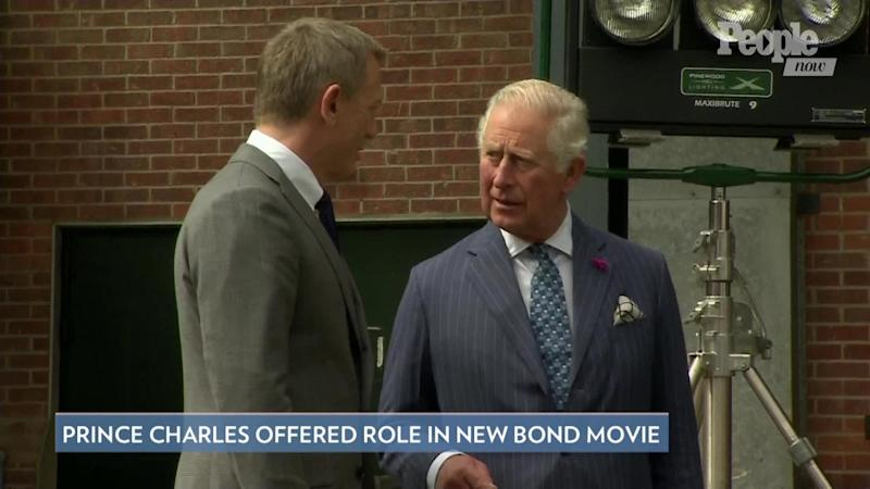 Prince Charles offered royal role in upcoming James Bond movie