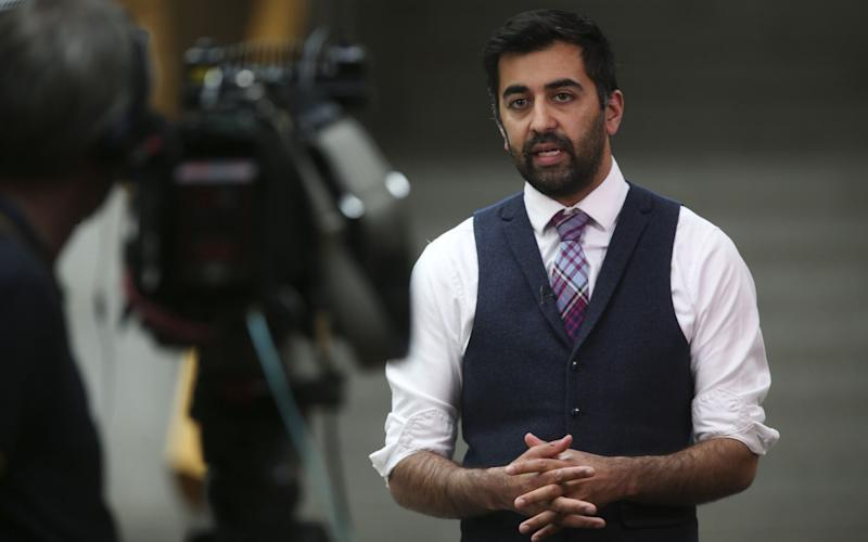 Humza Yousaf, the Scottish Justice Secretary - Getty Images Europe