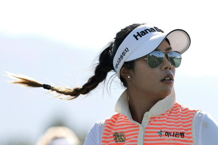 Thailand's Patty Tavatanakit holds a one-shot lead after 36 holes of the LPGA's ANA Inspiration, the first major golf championship of 2021