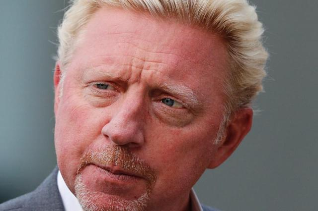 Boris Becker has claimed diplomatic immunity from bankruptcy proceedings in Britain on the basis that he is an ambassador for the Central African Republic (AFP Photo/Adrian DENNIS)