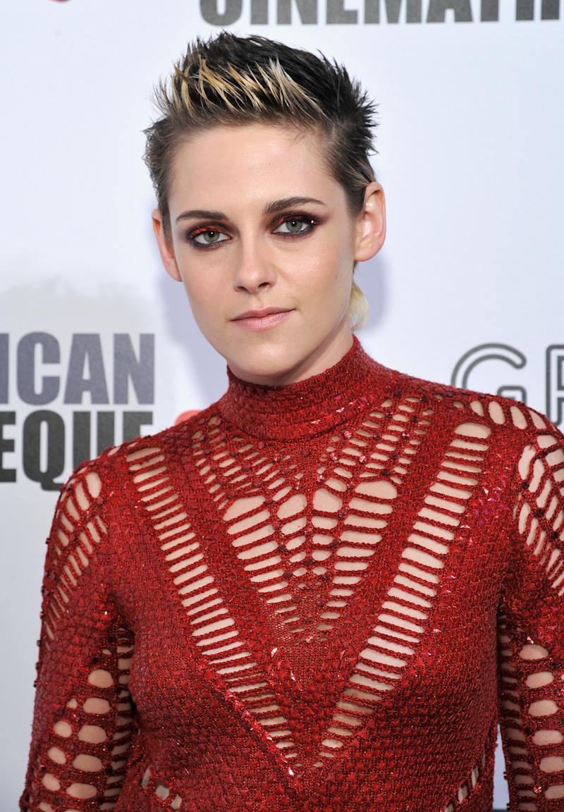 Kristen Stewart attends the 31st American Cinematheque Award presentation honoring Amy Adams on Nov. 10.  (John Sciulli via Getty Images)