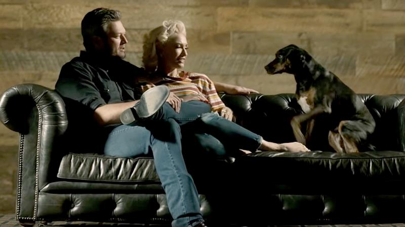 Blake Shelton, Gwen Stefani are in love in 'Nobody But You' video