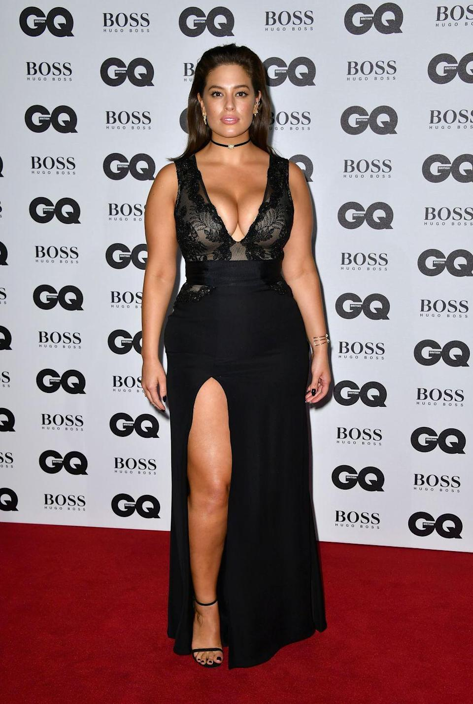 <p>GQ Men of the Year Awards, 2016: That split situation is really working for her.</p>